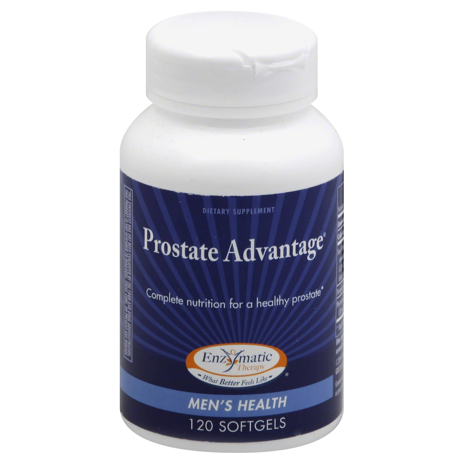Enzymatic Therapy Prostate Advantage Supplement - 120 Softgels