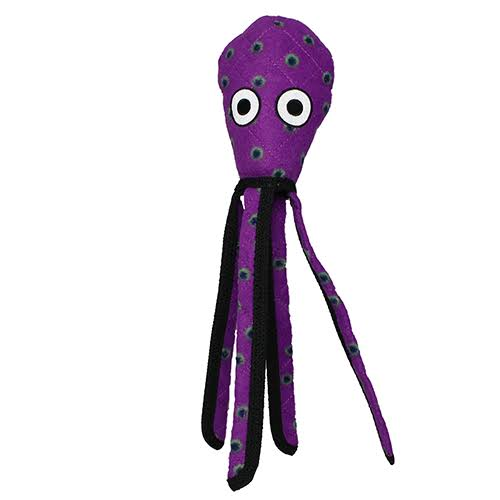 Dog Toy - Tuffy Ocean Creature Squid Purple