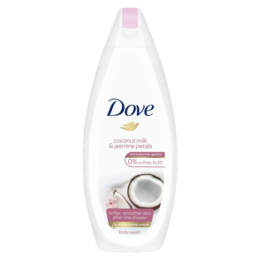 Dove Purely Pampering Milk and Coconut Body Wash - 225ml