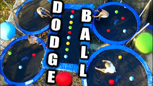 Water Beds N Stuff by Backyard Trampoline Dodgeball Court Youtube