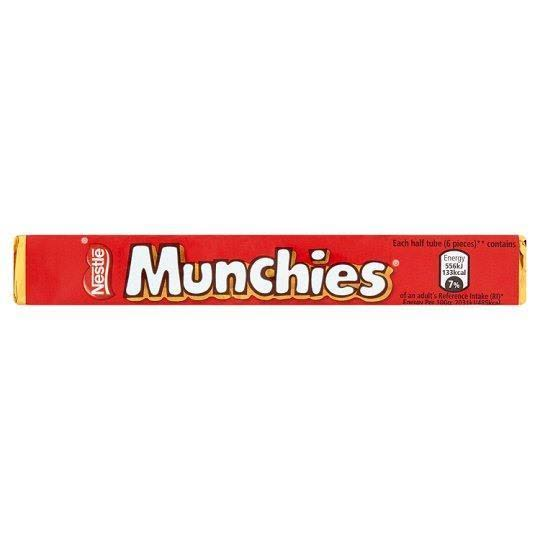 Nestle Munchies Milk Chocolate Tube - 52g