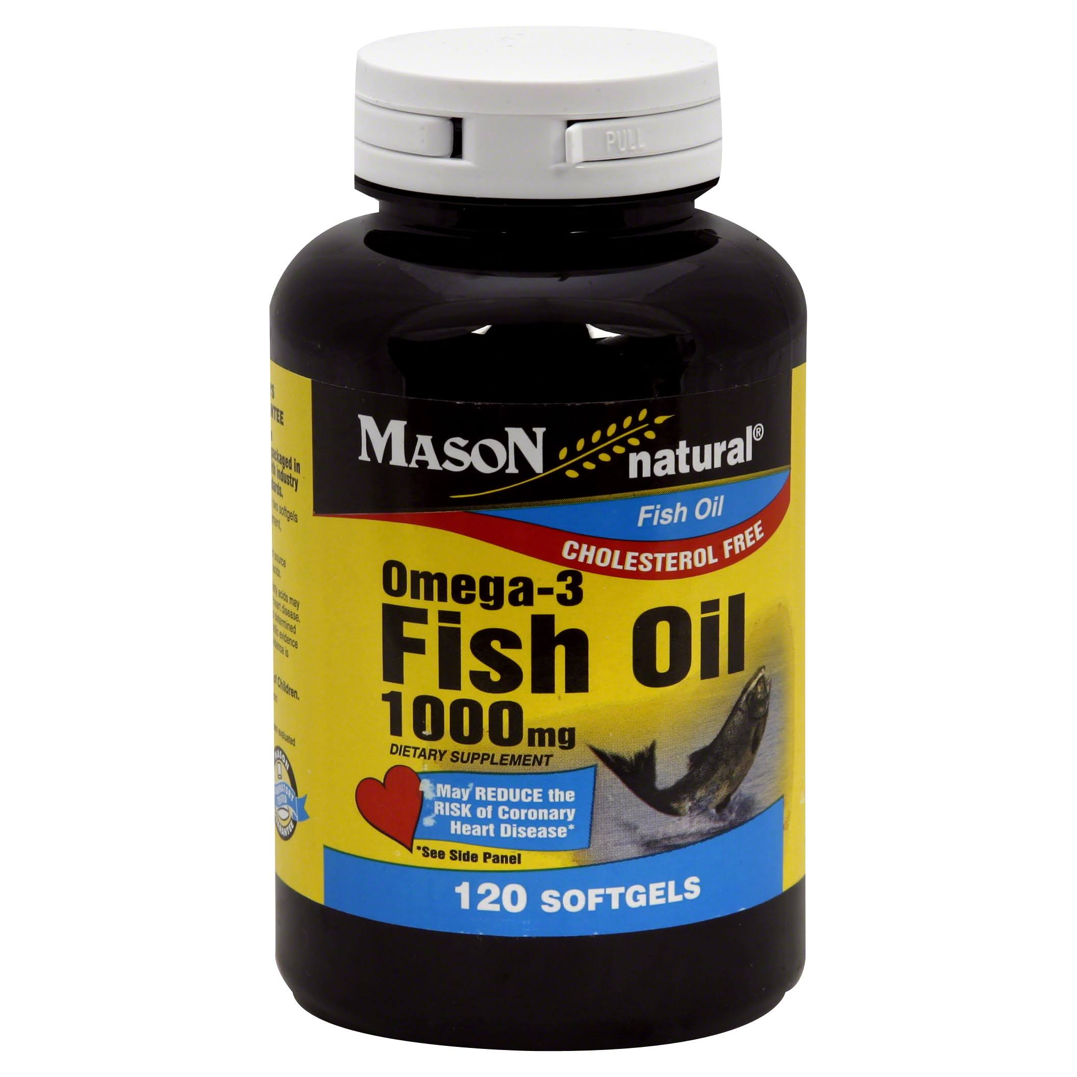 Mason Natural Omega-3 Fish Oil - 1000mg, 120ct