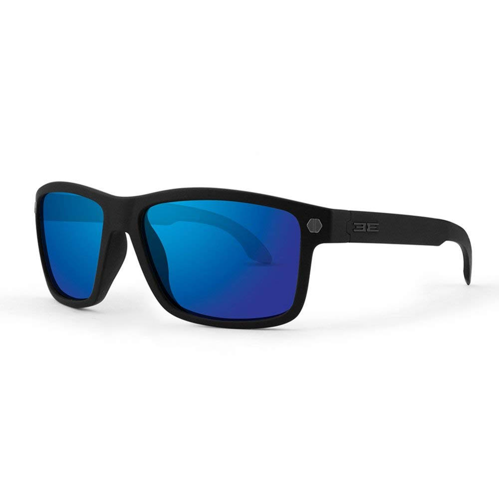 Epoch Eyewear G.O.A.T. Black Polycarbonate Frame Anti Fog Lenses Sunglasses, Blue