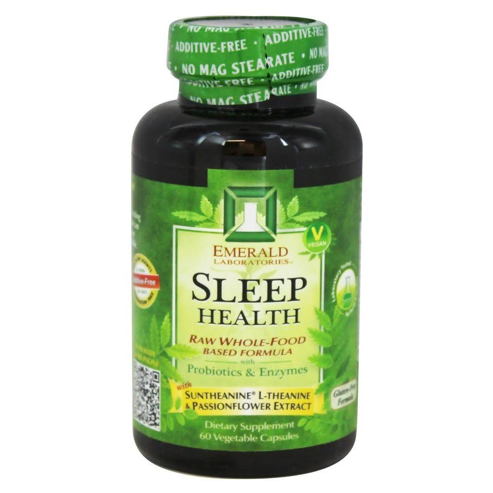 Emerald Labs Sleep Health Supplement - 60 Vegetarian Capsules