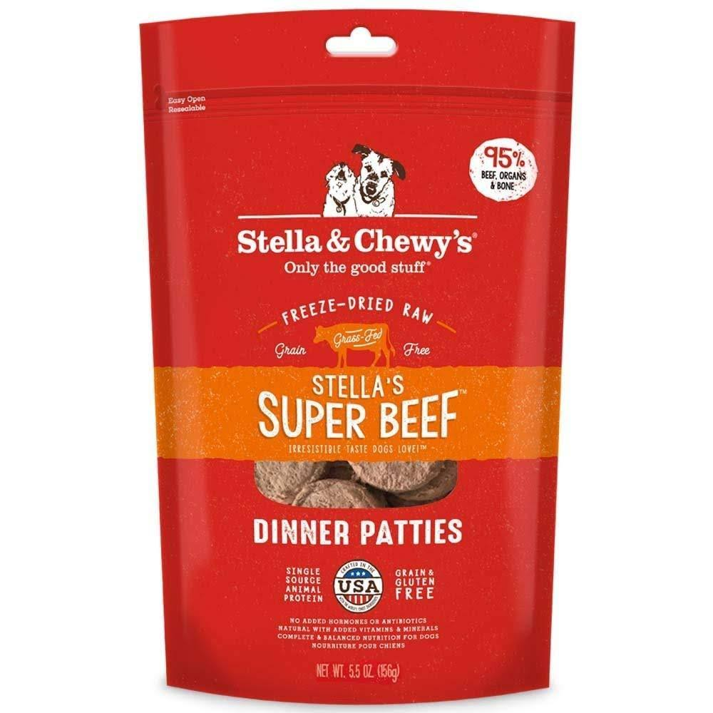 Stella & Chewy's Freeze Dried Dog Food - Stella's Super Beef Dinner