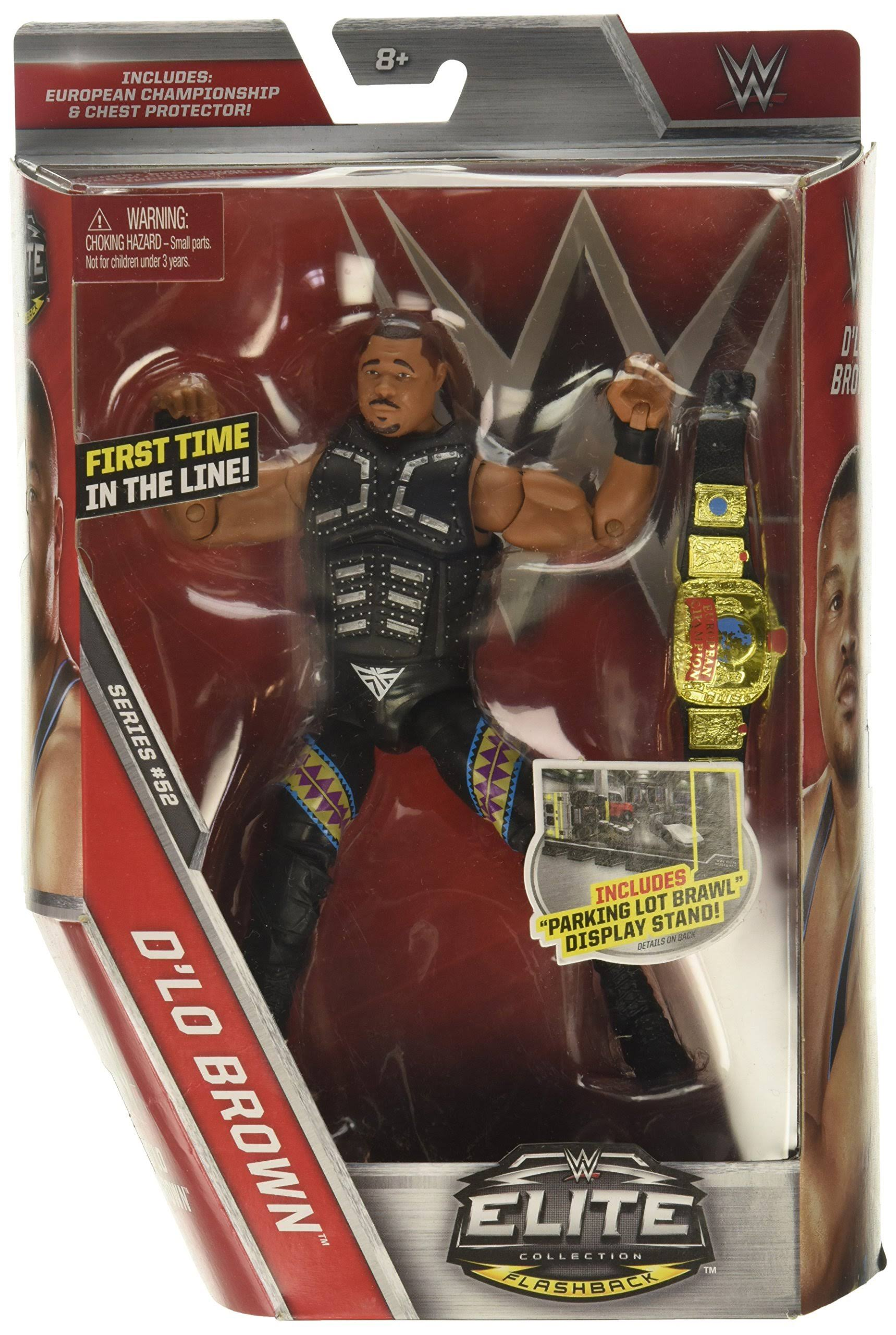 WWE Elite Collection D Lo Brown Action Figure
