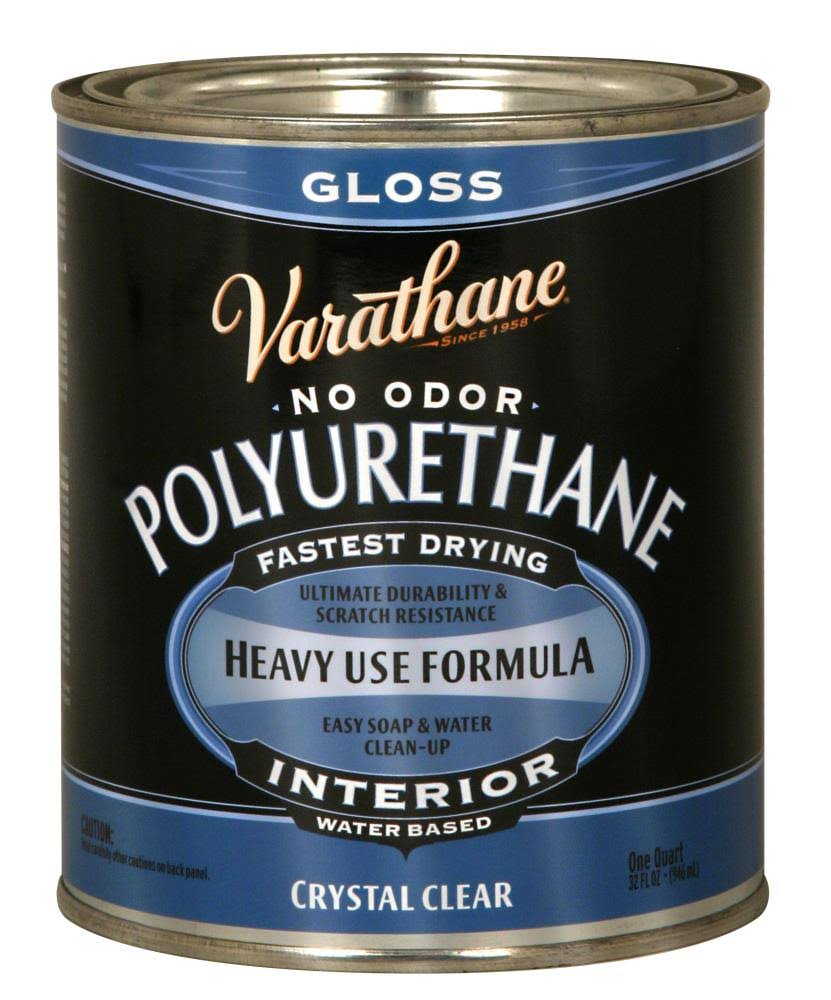Varathane Polyurethane Paint - Gloss, Crystal Clear