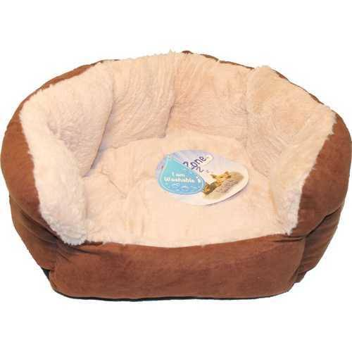 Ethical Chocolate Sleep Zone Reversible Cushion Bed 18 inch