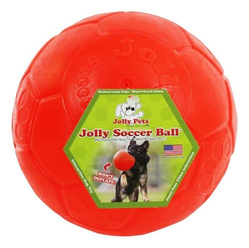 Jolly 881242 8 in. Soccer Ball - Assorted