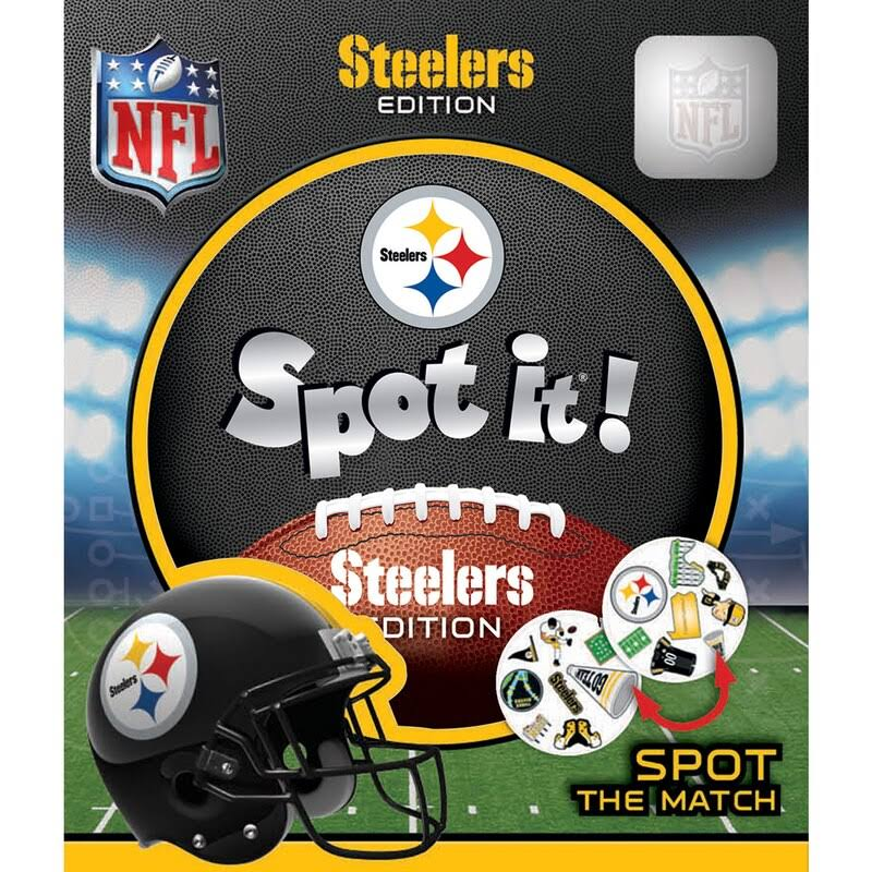 Masterpieces Pittsburgh Steelers Spot It Playing Card