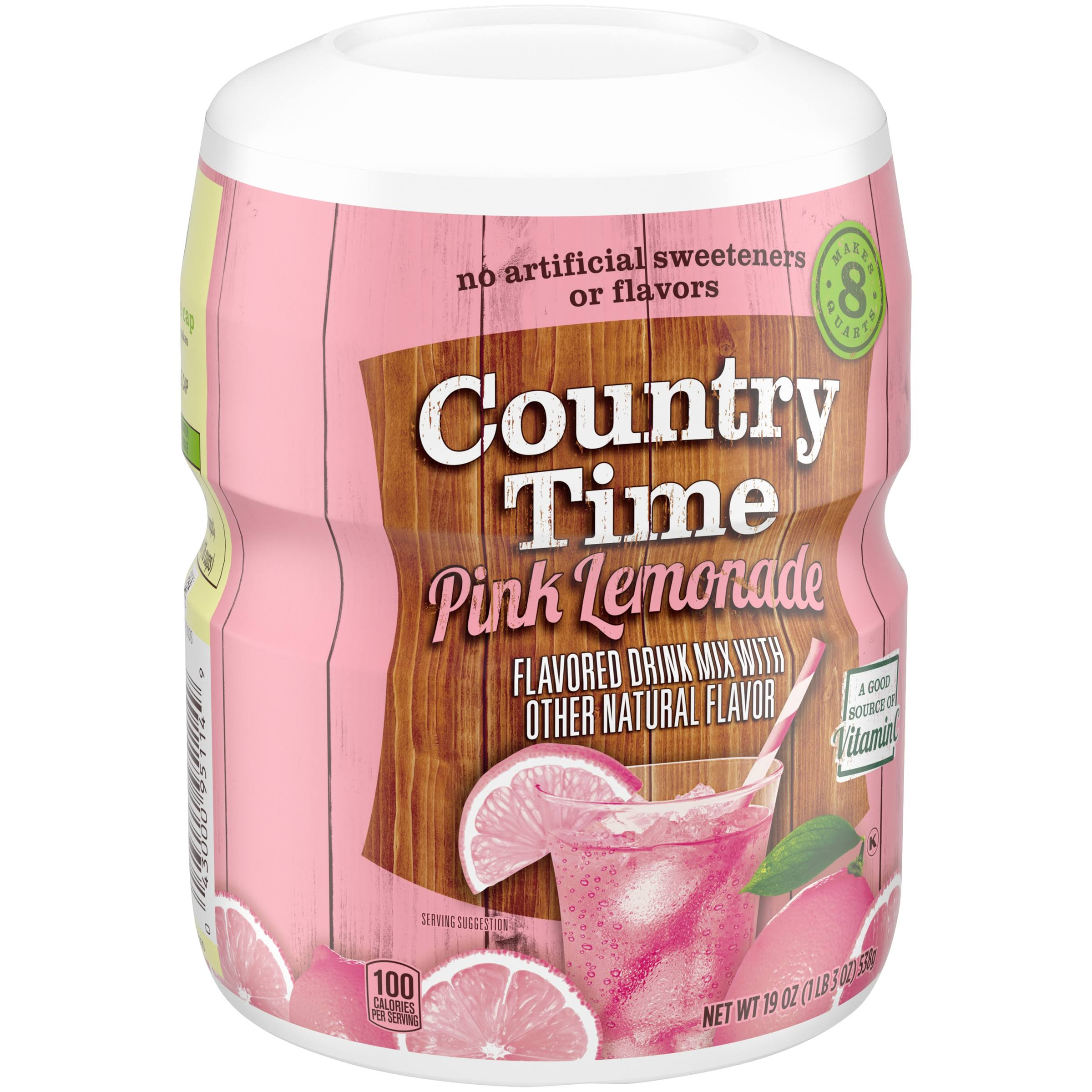 Country Time Pink Lemonade Drink Mix - 19oz