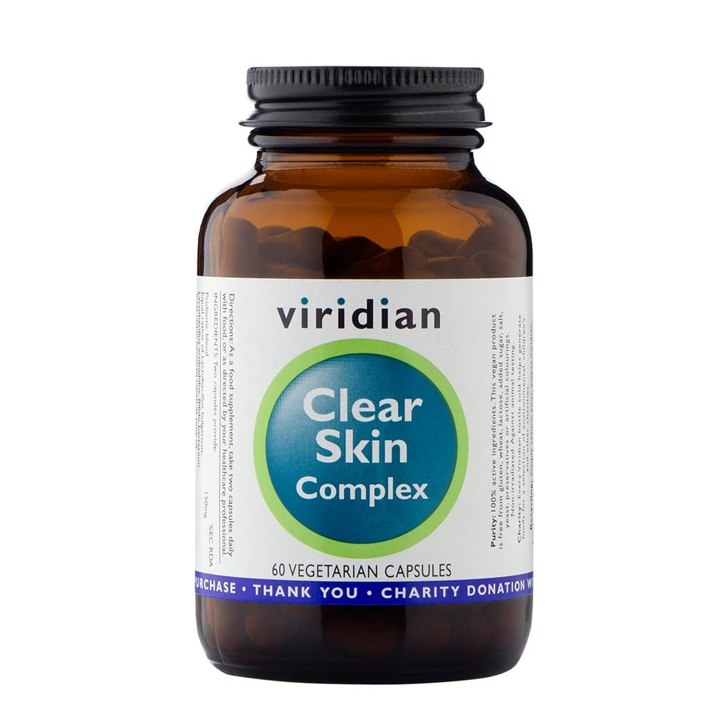 Viridian Clear Skin Complex - 60 capsules
