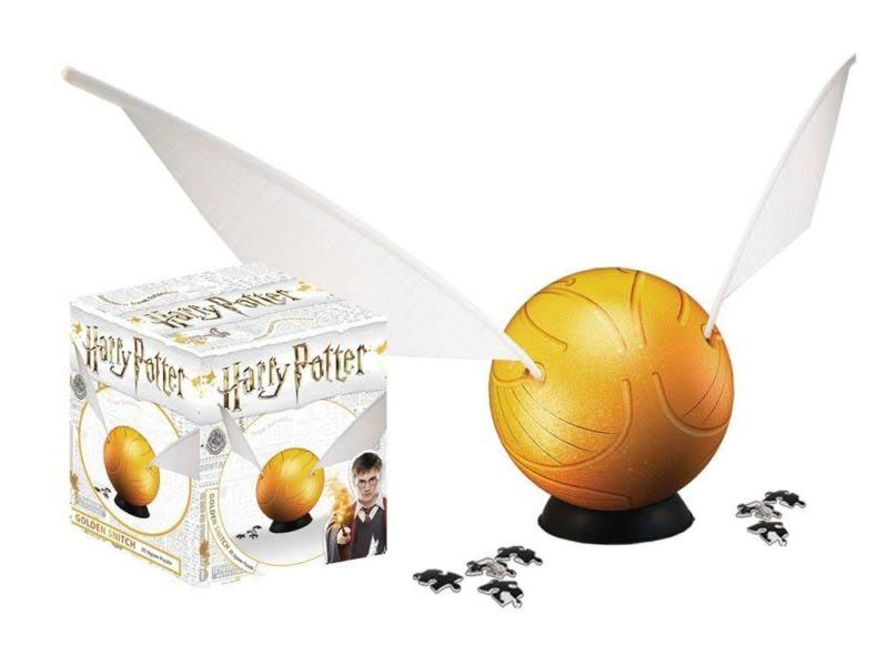 "4D 3"" Harry Potter Snitch Small Puzzle"