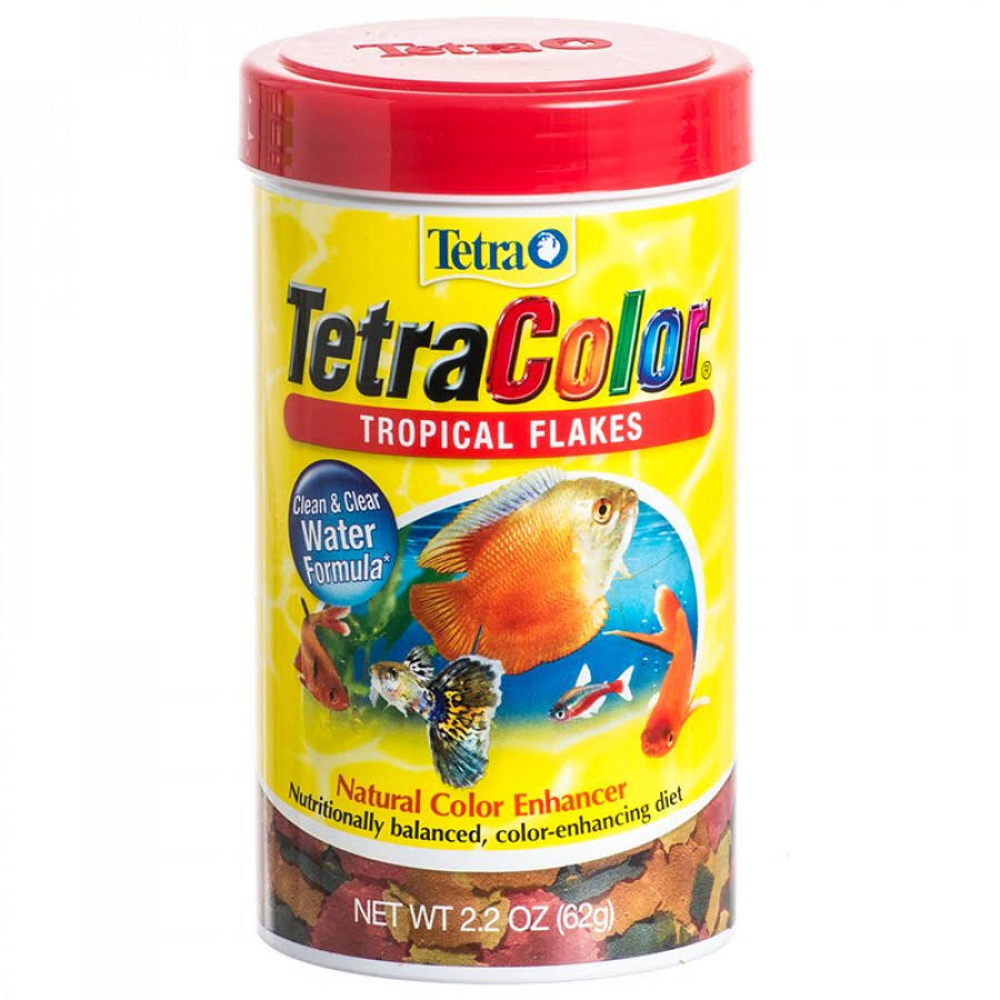 Tetra Tetracolor Tropical Flakes Fish Food - 62g