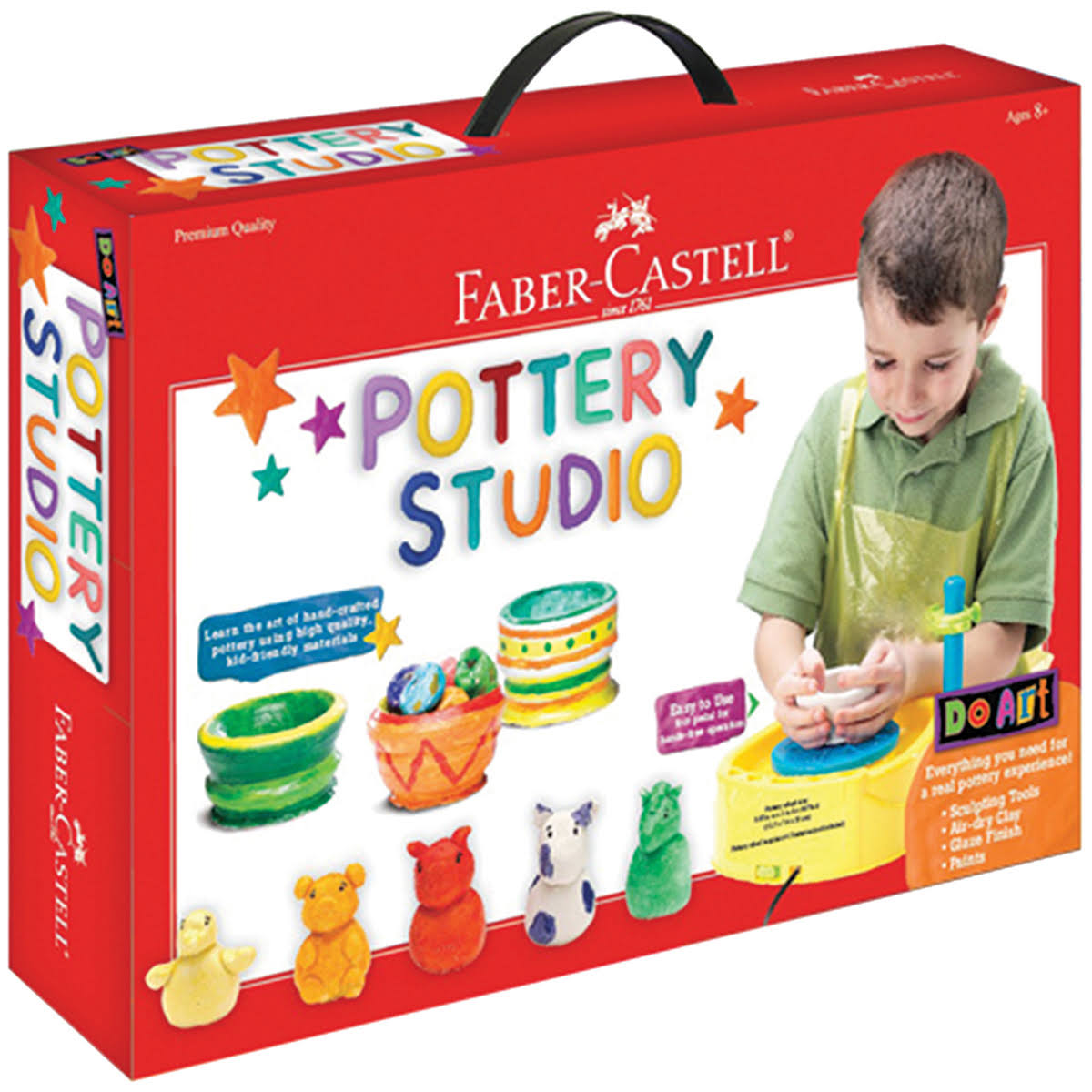 Faber-Castell Do Art Pottery Studio Kit