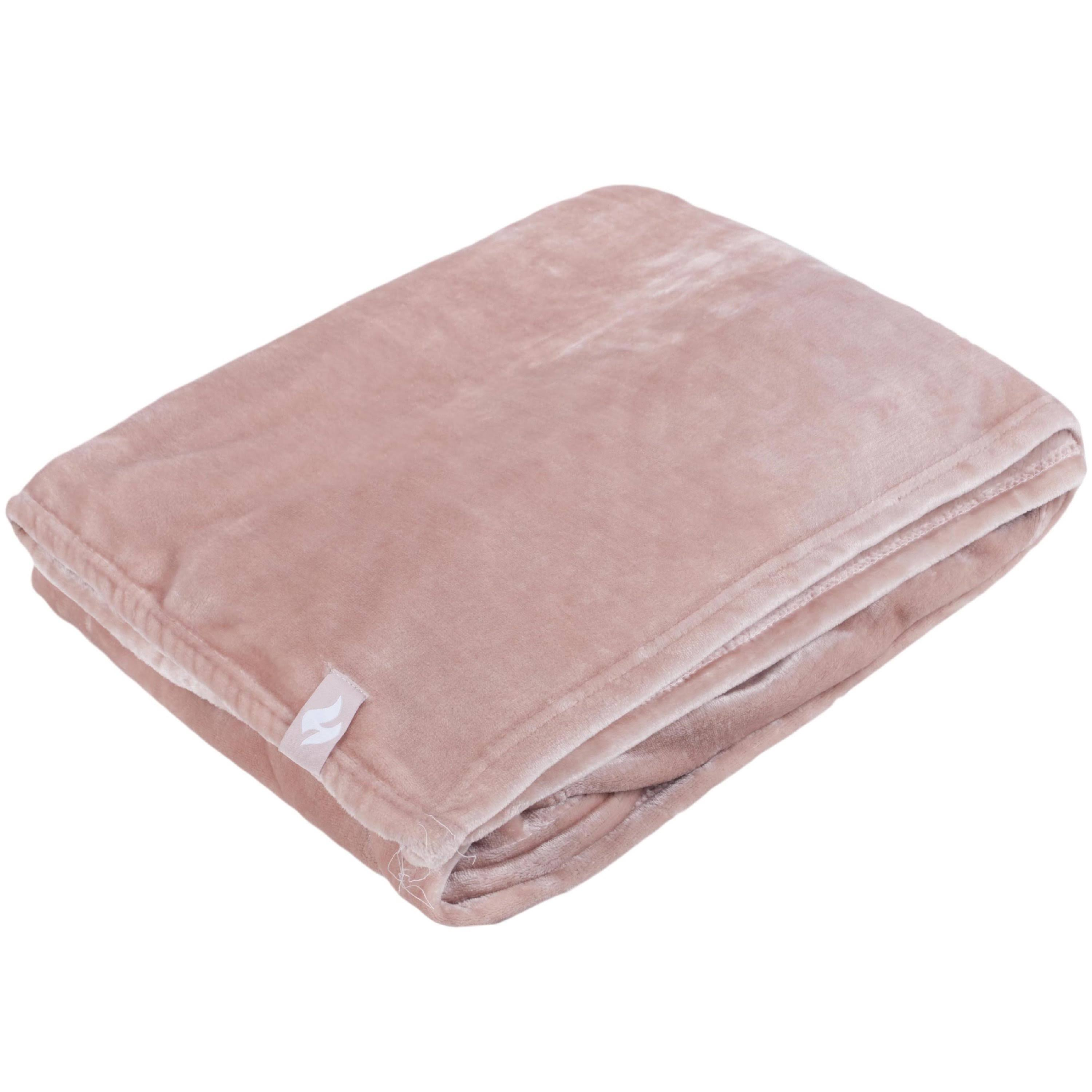 Heat Holders Snuggle Ups Thermal Blanket - Dusty Pink