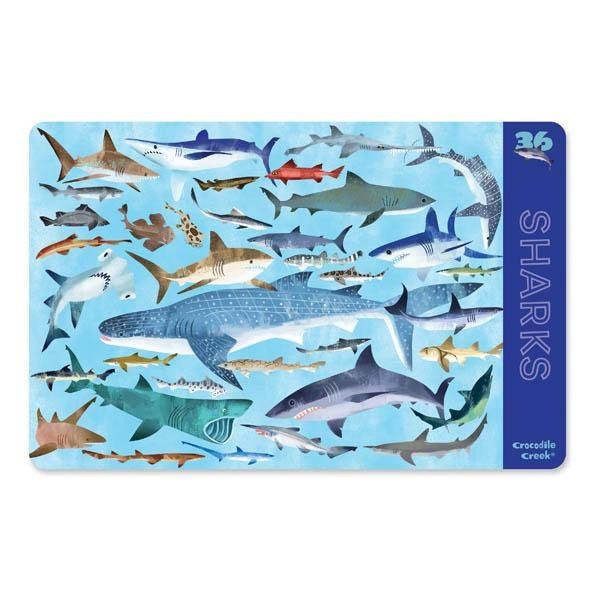Crocodile Creek Placemat 36 Sharks