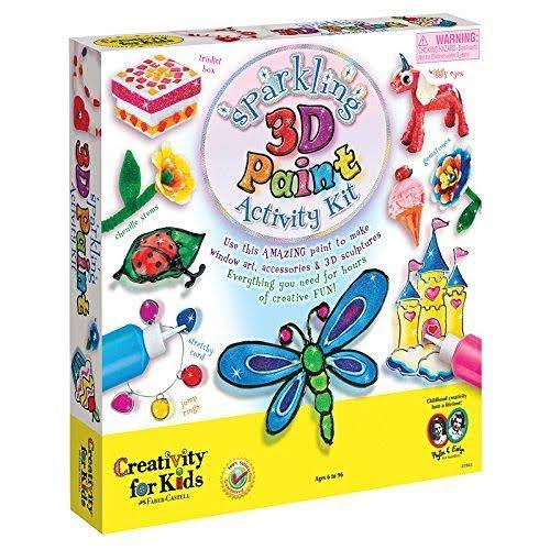 Creativity For Kids 3D Sparkling Wonder Activity Kit