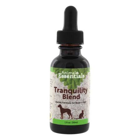 Animals' Apawthecary Tranquility Blend Dog & Cat Herbal Calming Supplement - 1 fl. oz