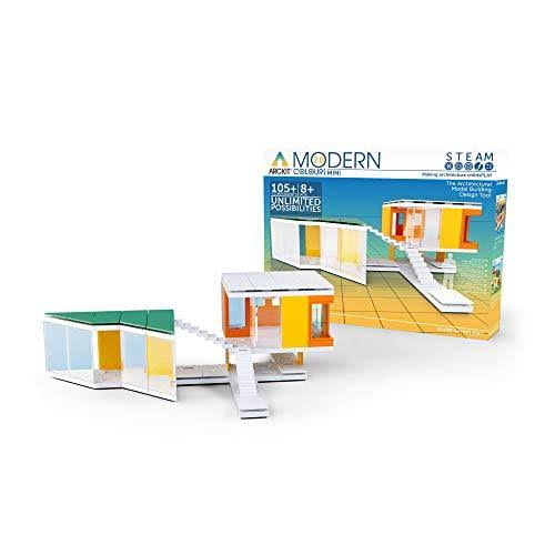 Arckit Mini Modern Colours 2.0, 105 Piece Architectural Model Kit