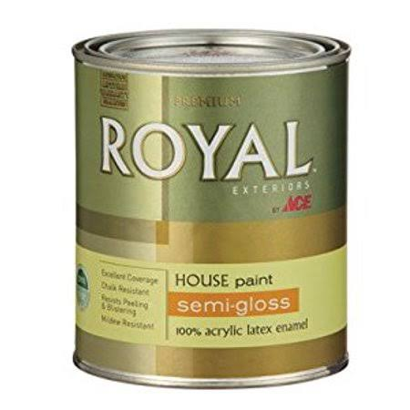 Ace Royal Exterior Latex House & Trim Paint - Semi-Gloss