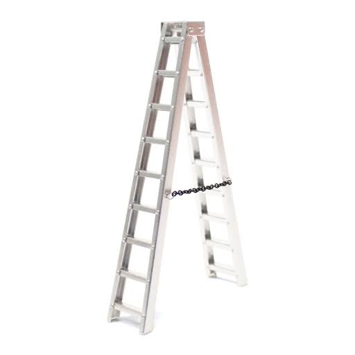 Racers Edge 3403 1/10 Scaler Aluminum Step Ladder (150mm)