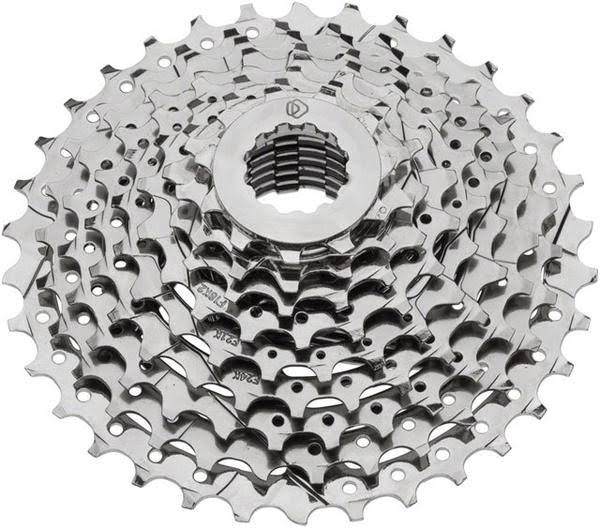 Dimension Cassette - 9 Speed, 11-28t, Gray