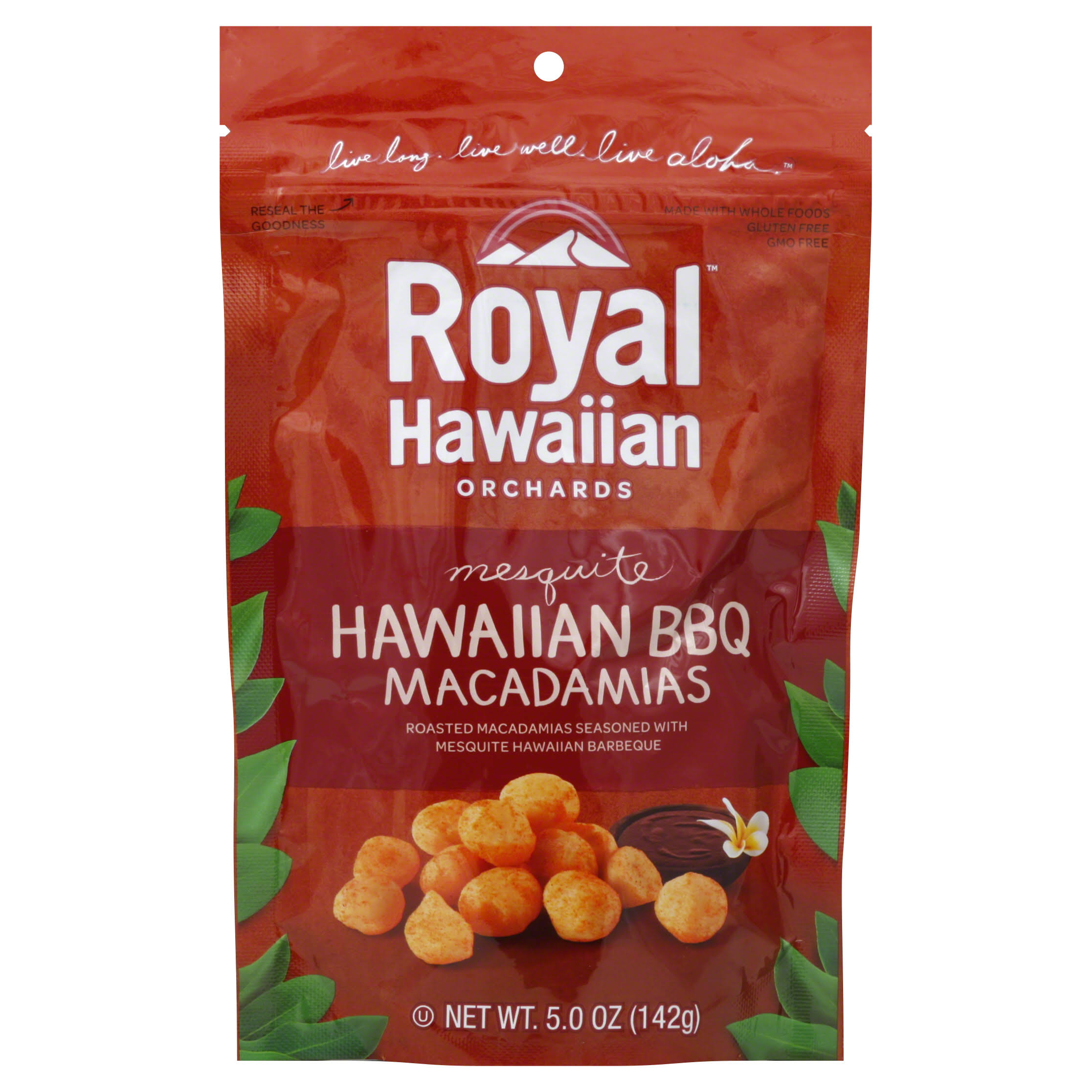Royal Hawaiian Macadamias, Mesquite Hawaiian BBQ - 5.0 oz