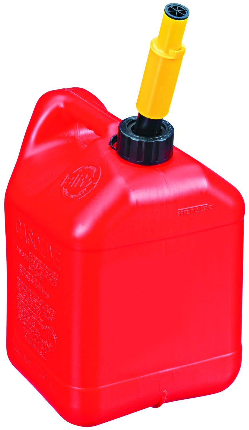 Midwest 2310 Portable High Density Polyethylene Gas Can - Red, 2gal