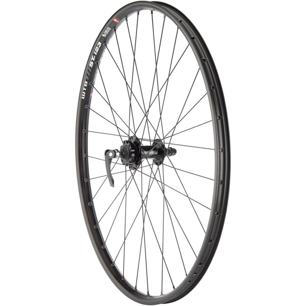 "Quality Wheels Mountain Disc Front Wheel 27.5"" 32H 100mm QR 6-Bolt / WTB ST i23 Tubeless Blk"