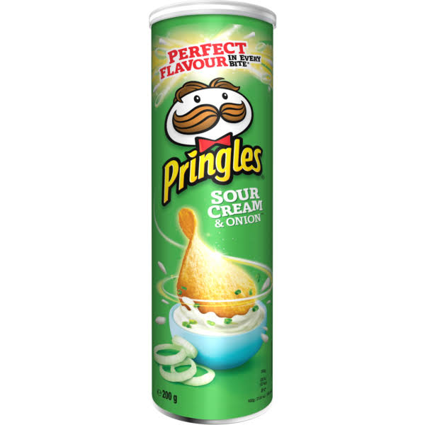 Pringles Sour Cream and Onion Crisps - 200g