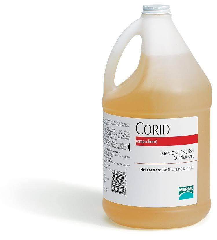 Merial Inc Corid 9.6 Percent Oral Solution - 1gal