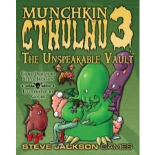 Steve Jackson Games Munchkin Cthulhu 3 The Unspeakable Vault