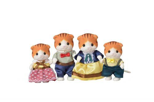 Calico Critters Maple Cat Family Doll Miniature