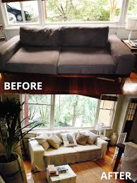 Black Sofa Covers India by An Alternative To Pottery Barn Sofas Comfort Works Custom Slipcovers