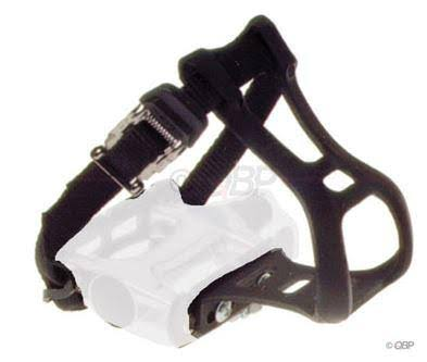 Dimension Toe Clip and Strap Set - Large-X-Large, Black