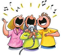 menyanyi karaoke