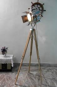 Photographers Tripod Floor Lamp by Make A Nautical Floor Lamps Shades