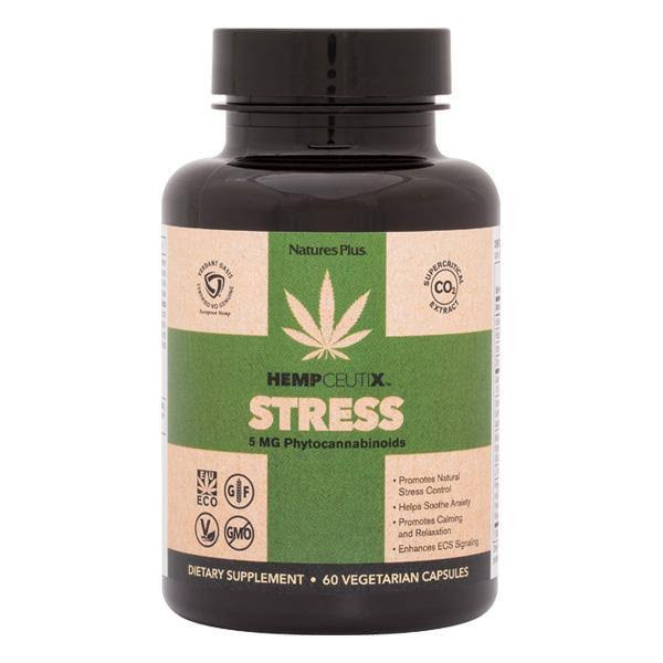 Nature's Plus HempCeutix Stress Vegicaps 60