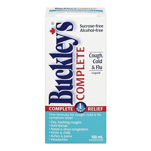 Buckley's Complete Cough Cold and Flu Syrup - 150ml