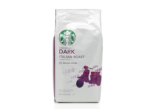 Starbucks Ground Coffee - Dark Italian Roast, 12oz