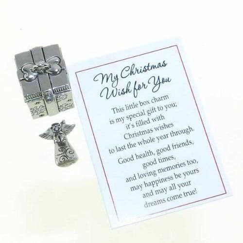 Ganz Prayer Box Charm, My Christmas Wish for You