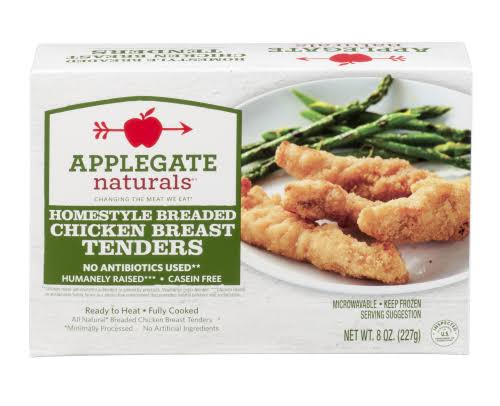 Applegate Farms Natural Homestyle Breaded Chicken Breast Tender - 8oz
