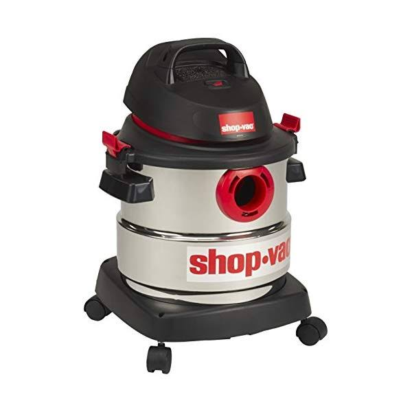 Shop-Vac 4.5 Peak HP Stainless Steel Wet Dry Vacuum, 5 Gallon