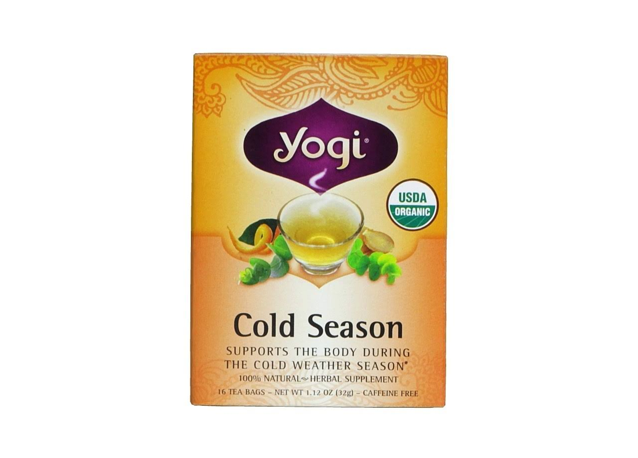 Yogi Cold Season Tea - 16 Tea Bags