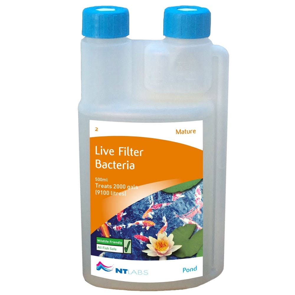NT Labs Pond Aid Mature Live Filter Bacteria - 250ml