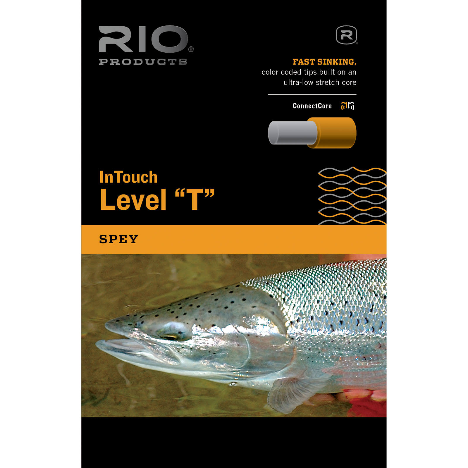Rio InTouch Level T Fly Fishing Line T8 500 ft | Avidmax