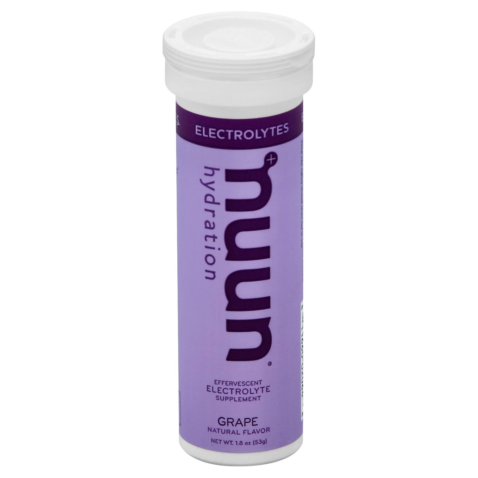 Nuun Hydration Electrolyte Enhanced Drink Tablets - Grape,10pk