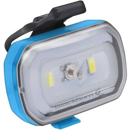 Blackburn Click USB Front Light - Blue, One Size