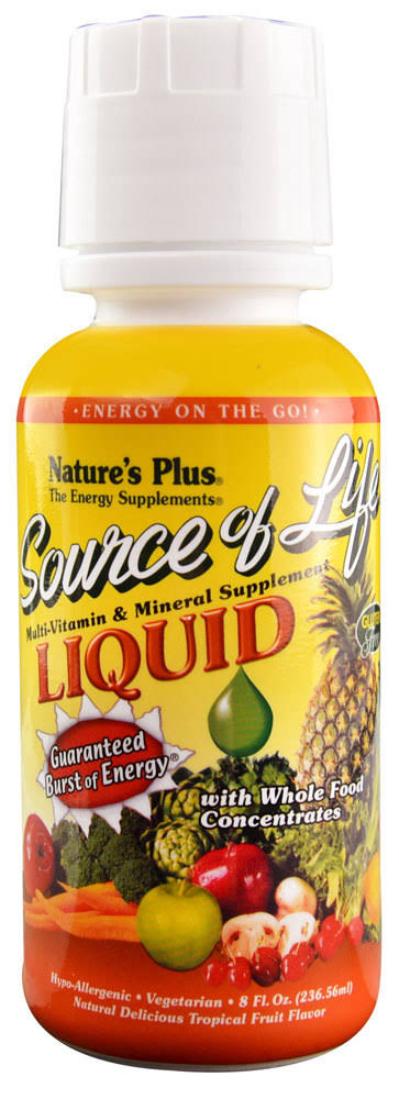 Nature's Plus Source Of Life Liquid - Tropical Fruit